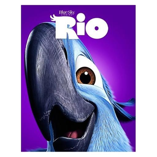 Rio (blu-ray/dvd/uv) triple play (family icons o-ring) BIA1MQIXQ5UF7N0L