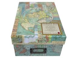 Pun49075 punch studio photo box world atlas