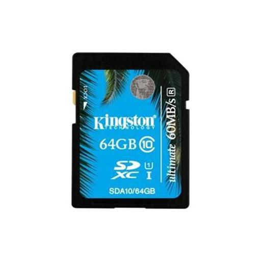 Kingston sda10/64gb 64gb sdxc class 10 uhs 1 fc BOOGYH1JWD0ZEJHW