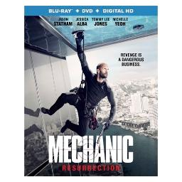 Mechanic resurrection (blu ray/dvd w/digital hd) BR50542