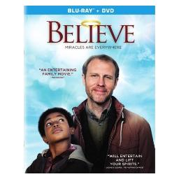Believe (2017) (blu ray/dvd combo) (2discs/dol dig 5.1/ws) BR50348