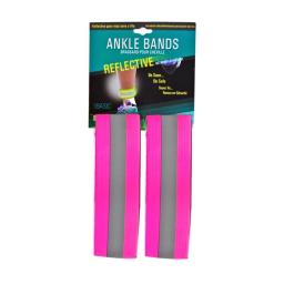Artcraft 92001-p Reflective Safety Ankle Bands, Pink