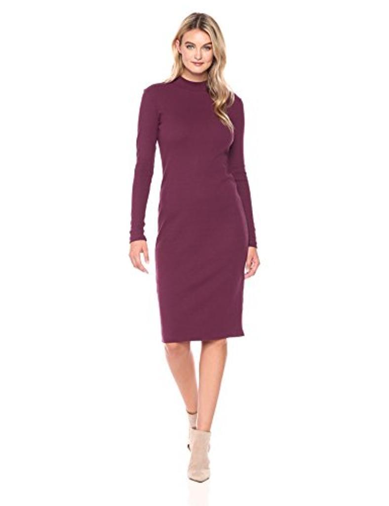 CATHERINE CATHERINE MALANDRINO Women's Kristiana Dress,, Grapewine, Size X-Large