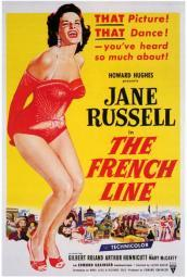 The French Line Movie Poster Print (27 x 40) MOVIF2308