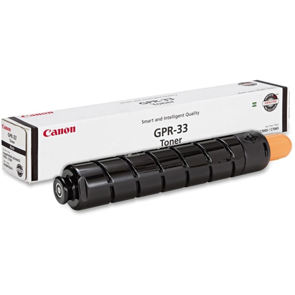 Canon-strategic 2792b003aa canon gpr-33 black toner cartridge for use in ir advance c7055 c7065 estimated y