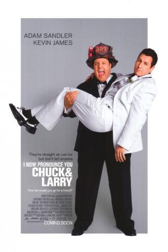 I Now Pronounce You Chuck and Larry Movie Poster (11 x 17) 1Y5869L0W0NTP8T2