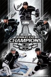2014 Los Angeles Kings Stanley Cup - Champs Poster Poster Print TIARP13548