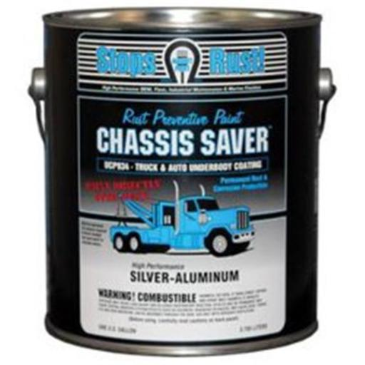 Magnet Paint & Shellac UCP934-01 1 gal Chassis Saver Paint, Stops & Prevents Rust - Sliver-Aluminum