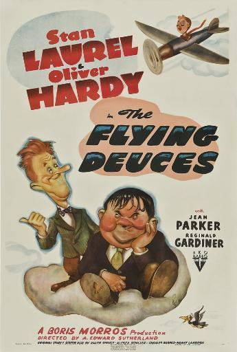 The Flying Deuces From Left: Stan Laurel Oliver Hardy 1939. Movie Poster Masterprint 9EUSANYLZN4GBR3P