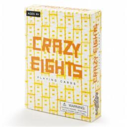 Brybelly Holdings TCAR-102 Crazy Eights Illustrated Card Game