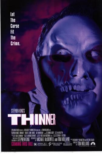 Stephen King's Thinner Movie Poster Print (27 x 40) YRHIO9F2JKGKPDJ6