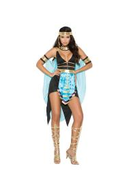 Elegant Moments Womens Queen Of The Nile Cleopatra Halloween Roleplay Costume