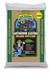Wiggle Worm Soil Builder Earthworm Castings Wiggle Worm 30 lbs (75/pallet)