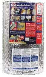 Reflectix 24 in. W x 50 ft. L Up To 14.3 Reflective Insulation Roll 100 sq. ft. - Case Of: 1
