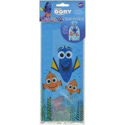 """Treat Bags 4""""X9.5"""" 16/Pkg Finding Dory"""