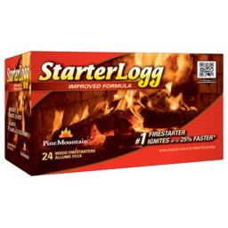 Pine Mountain 41525-01001 Starterlogg Firestarter, Pack - 24