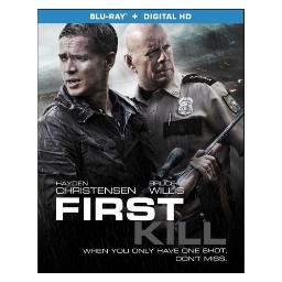 First kill (blu ray) BR52470