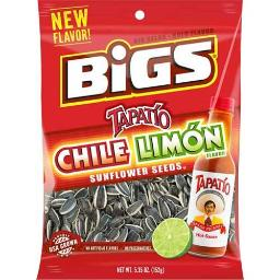 Big Chile Limon Sunflower Seeds, 5.35 Ounce - 12 per case.