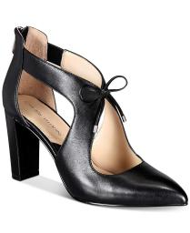 Adrienne Vittadini Womens Nigel Suede Pointed Toe Ankle Strap Classic Pumps