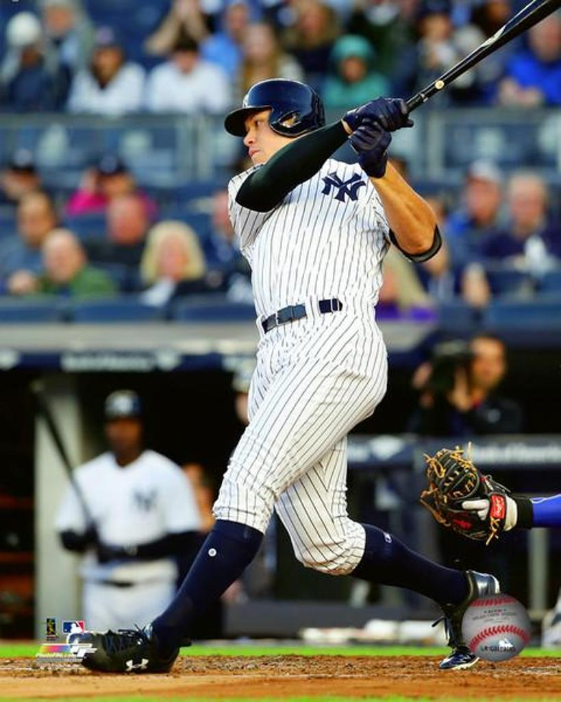 Aaron Judge 2017 Action Photo Print