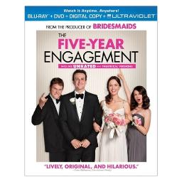 Five year engagement blu ray/dvd w/digital copy BR61120752