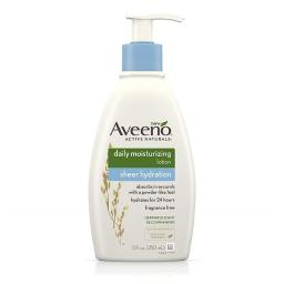 Aveeno U-BB-2543 12 oz Unisex Daily Moisturizing Sheer Hydration Lotion