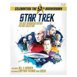 Star trek next generation motion picture collection (blu ray) (4discs) BR59176150