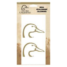 SPG DDE2103 SPG DU DUCKHEAD DECAL 2-PACK 6 CORPORATE GOLD
