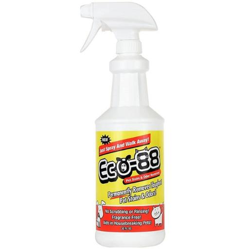 Eco-88 Products EX32673 Eco-88 Stain & Odor Remover, 32 oz C6GKRHQYRHT25THP