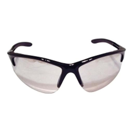 SAS Safety SAS540-0602 DB2 Safety Glasses Indoor-Outdoor Lens and Black Frames in Polybag