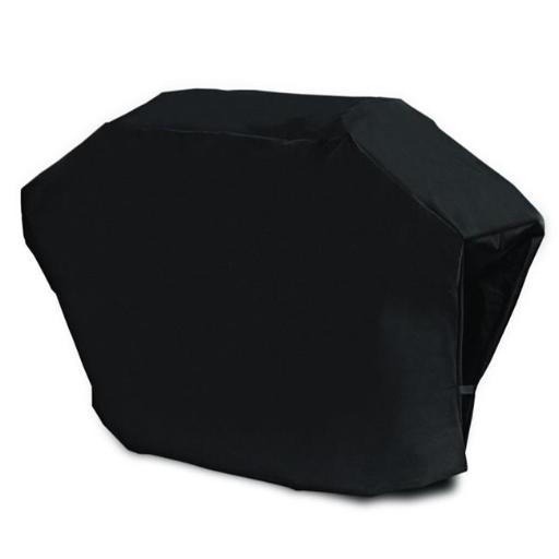 Aleko CBQ052-UNB Heavy Duty Water Proof Gas BBQ Grill Cover Made From PVC Coated Polyester, Black - Medium