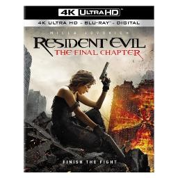 Resident evil-final chapter (blu-ray/4k-uhd/ultraviolet combo) BR48877