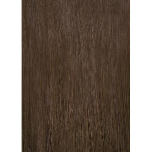 DS Secret NHSFIHRH-4 Flip in Human Hair Extensions, Classic Brown DFE3E188493B3C28