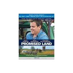 PROMISED LAND BLU RAY/DVD W/DIGITAL COPY 25192157400