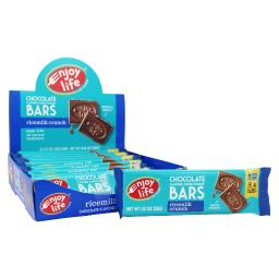 Enjoy Life Foods - Allergy Friendly Chocolate Bars Box Ricemilk Crunch