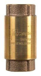 Campbell 4029e Lead-Free Check Valve 1//2