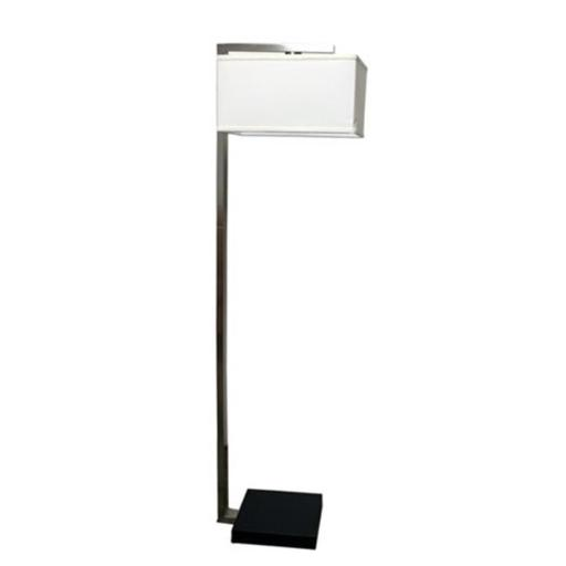 62 in. H Floating Shade Modern Floor Lamp