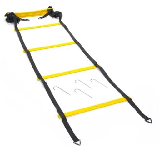 Black Mountain Products 6M Ladder 6m Foldable Agility Ladder with Carry Bag