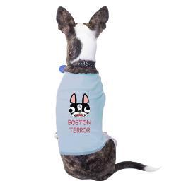 Boston Terror Terrier Cute Graphic Dog Shirt Gift For Small Dogs