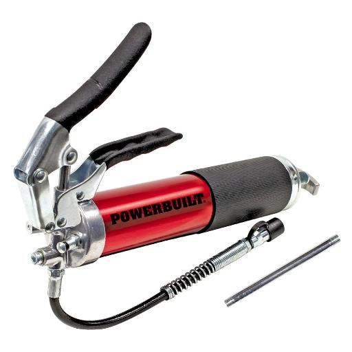 Powerbuilt 4,500 PSI Anodized Pistol Grip Heavy Duty Grease Gun – 940798