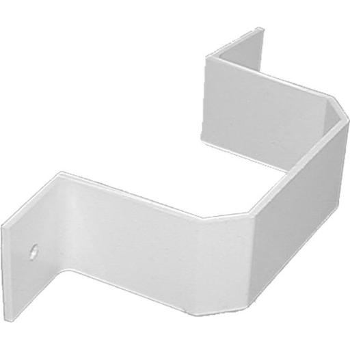 Genova Products 2in. x 3in. Brown Downspout Bracket AB202