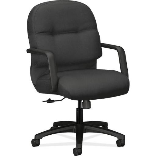 The HON HON2092CU19T Managerial Mid-Back Office Chair with Arms, Iron