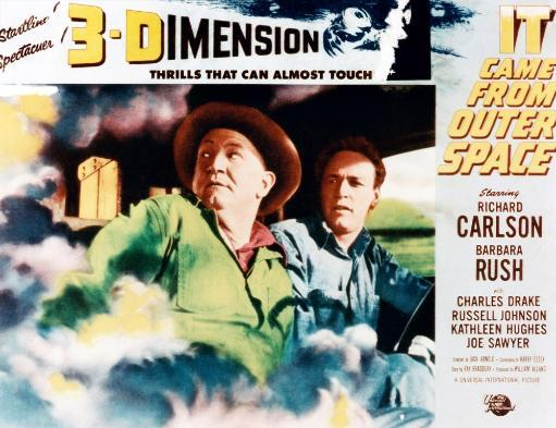 It Came From Outer Space From Left: Joe Sawyer Russell Johnson 1953 Movie Poster Masterprint