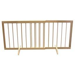 Cardinal Gates Sg-1-Lo Light Oak Cardinal Gates Step Over Free Standing Pet Gate Light Oak 28 - 51.75 X 2 X 20