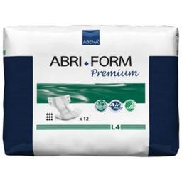 ABENA NORTH AMERICA RB43068 Abri-Form L4 Premium Adult Brief, Large - 39 to 59 in.Pack of 12