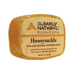 Clearly Natural Essentials Honeysuckle Glycerin Soap