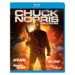 Chuck norris total attack pack (blu-ray/4 disc) BRM132293