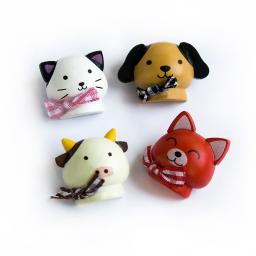 Happy Animals-2 - Refrigerator Magnets / Animal Magnets
