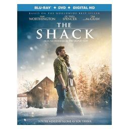 Shack (blu ray/dvd combo w/uv) (2disc/ws/eng/eng sub/sp/sp sub/eng sdh/5.1 BR51517