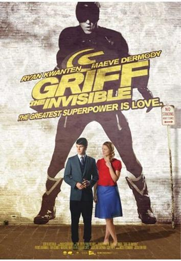 Griff the Invisible Movie Poster (11 x 17) NPJMFZJ6JMLUAEKI